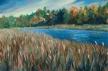 Swift Water, oil on canvas