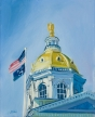 Concord Statehouse Dome © Janice Donnelly