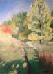 "Autumn Path 12""x9"""