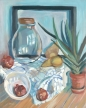 Still Life with Pears and Pomegranates © Janice Donnelly
